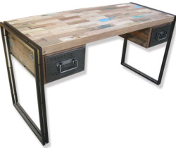 2 DRAWER INDUSTRIAL DESK-KKSM46003