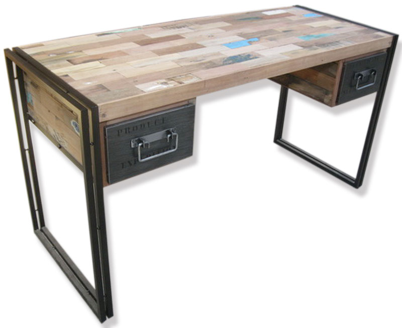 Industrial Desk 2 drawer industrial desk-
