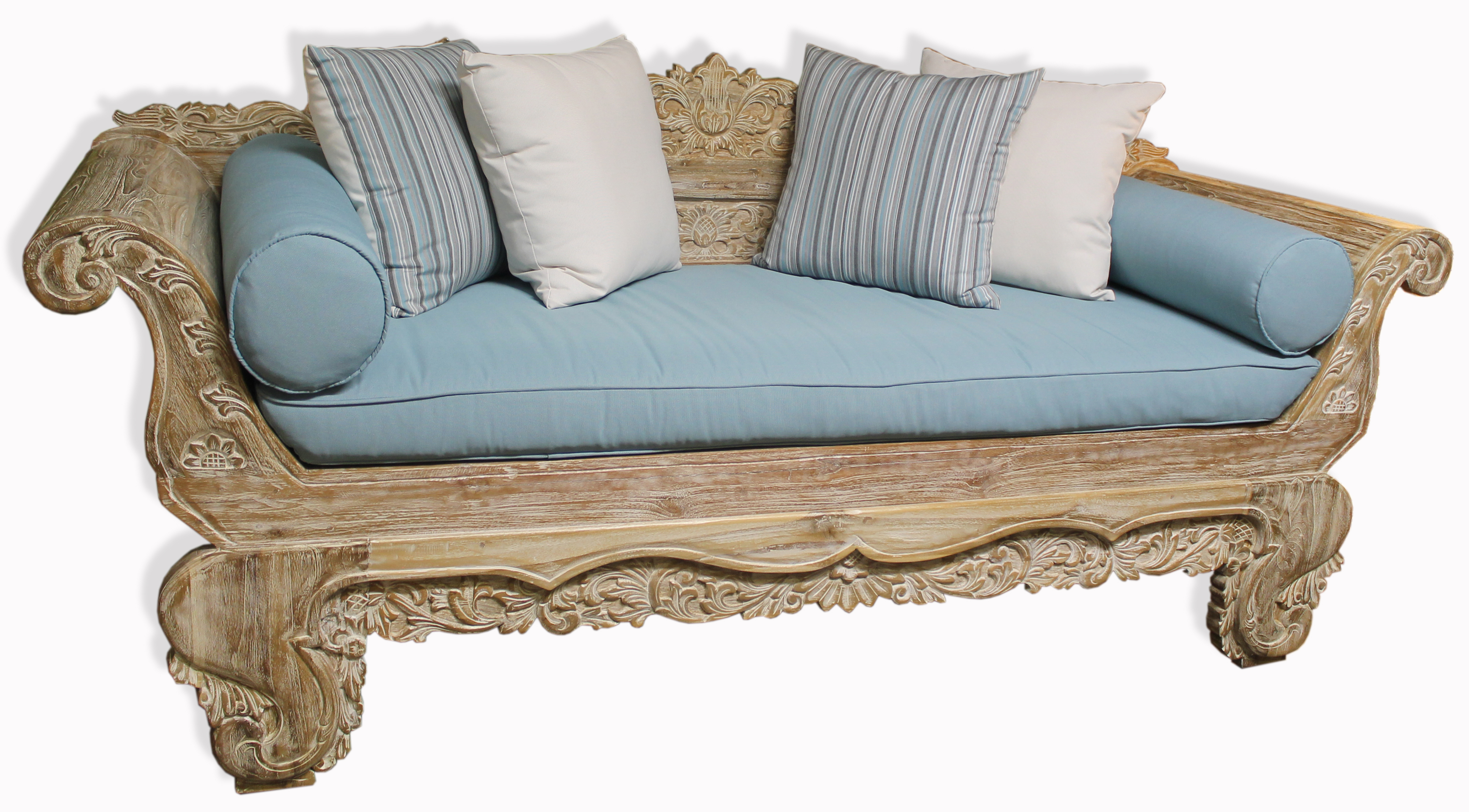 Picture of: Madura Daybed Carved Balinese Daybeds Unique Ranges Ashanti Furniture And Design