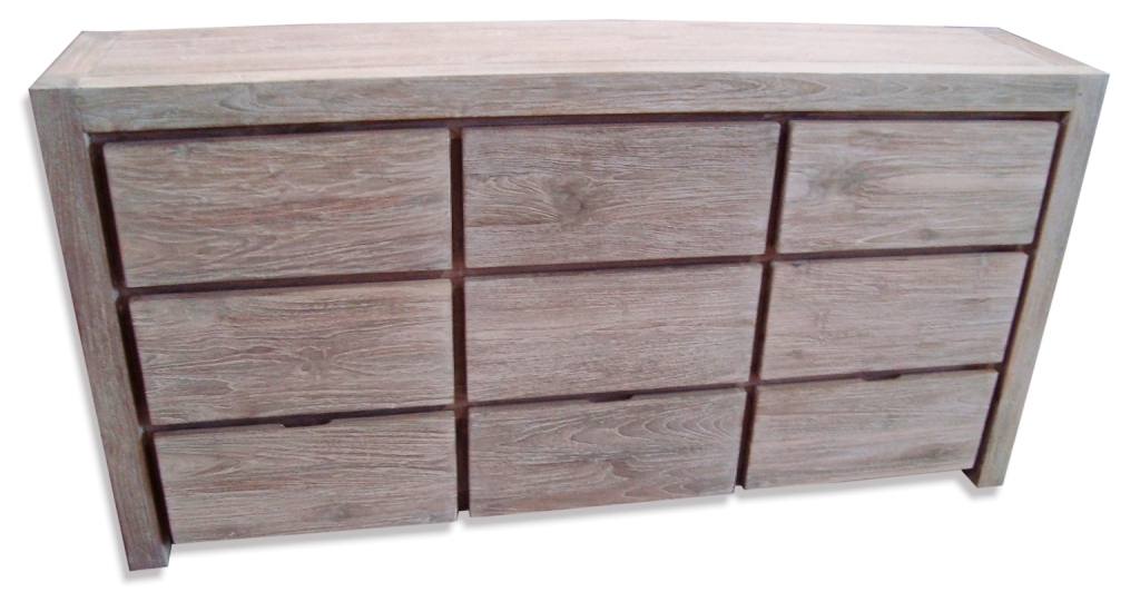 natural west reclaimed wood dresser emmerson drawer elm white wash