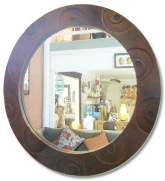Round Bullet Mirror
