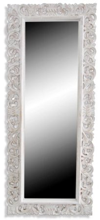 Shabby Chic Carved Mirror