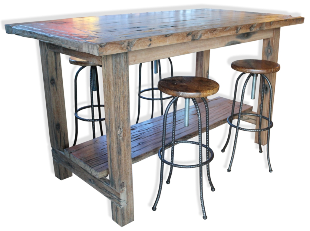 The Rail Yard High Table Dining Room Industrial Vintage