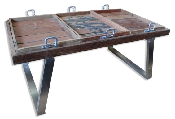 Coffee Table With Butlers Trays Ashanti Furniture And Design