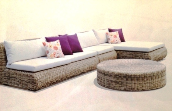 Selina Outdoor Synthetic Lounge