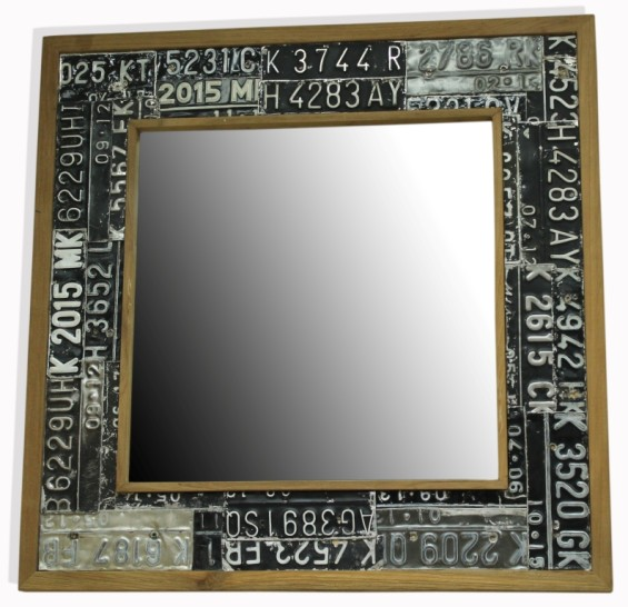 Number Plate Mirror