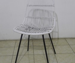 Buenos chair KD (White Solid) 1
