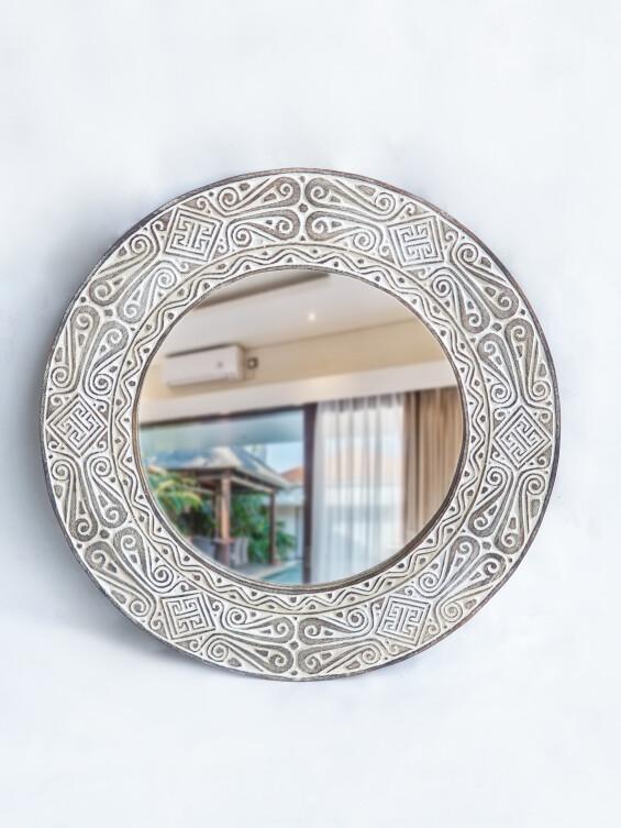 Round Timor Mirror