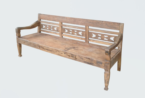 Old Teak Bench