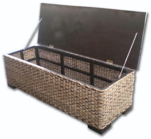 Timber Top Storage Box Coffee Table