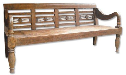 Recycled Teak Day bench