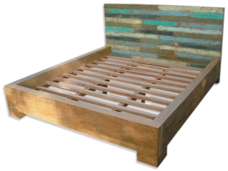 Old Boat Timber Bed