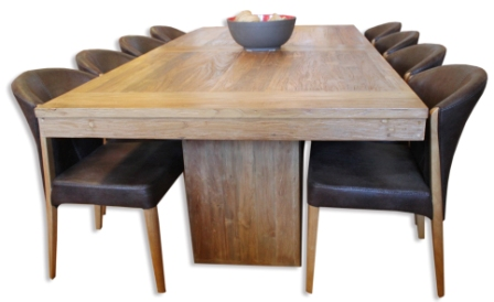 Colossus Pedestal Table