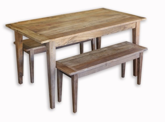 Shanghai Table and Bench Setting